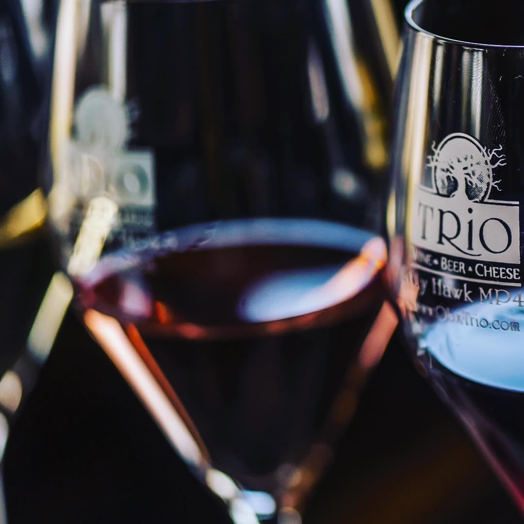 Wine Tastings at TRiO